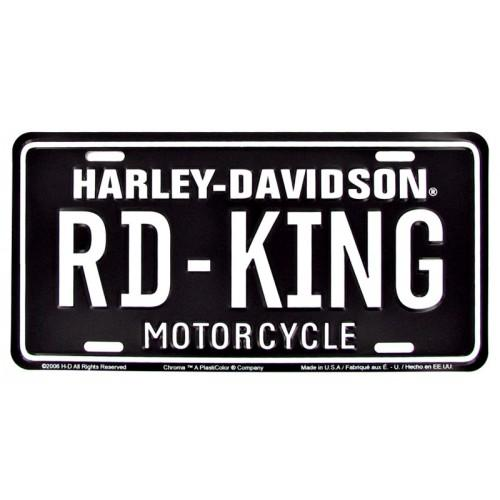Harley Davidson RD-KING License Plate-Mr Revhead