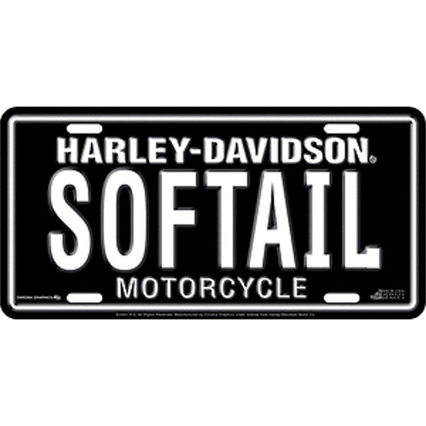 Harley Davidson SOFTAIL License Plate-Mr Revhead