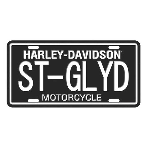 Harley Davidson ST-GLYD License Plate-Mr Revhead