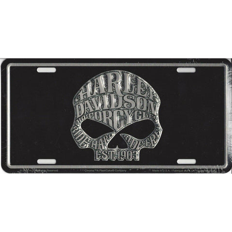 Harley Davidson WILLIE G License Plate-Mr Revhead