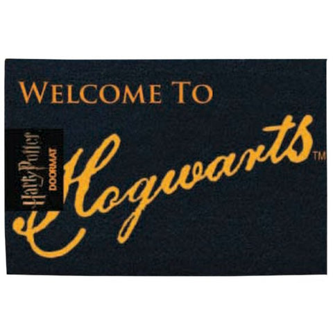 Harry Potter - Welcome to Hogwarts Doormat-Mr Revhead