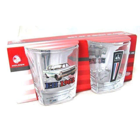 Holden EH 1963 Spirit Glasses Set Of 2-mightymoo