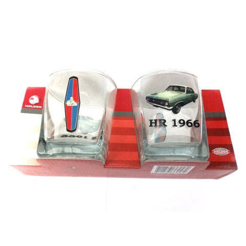 Holden HR 1966 Spirit Glasses Set Of 2-mightymoo