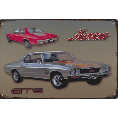 Holden Manaro GTS Tin Sign-Mr Revhead