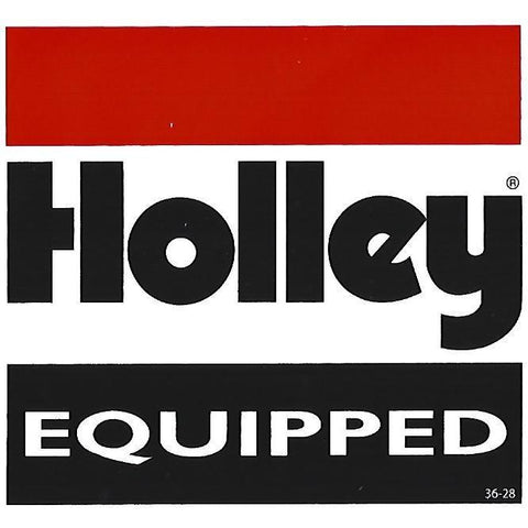Holley Sticker / Decal-Mr Revhead