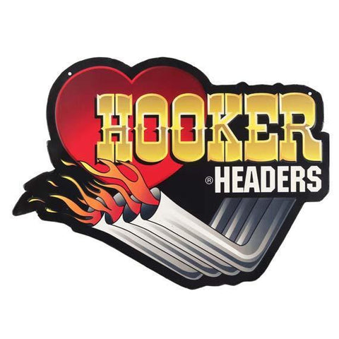 Hooker Headers Tin Sign-Mr Revhead