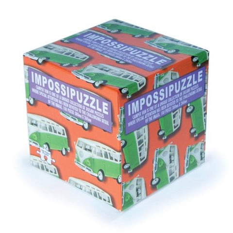 Impossipuzzles Camper Vans – 100 Piece Jigsaw Puzzle-mightymoo
