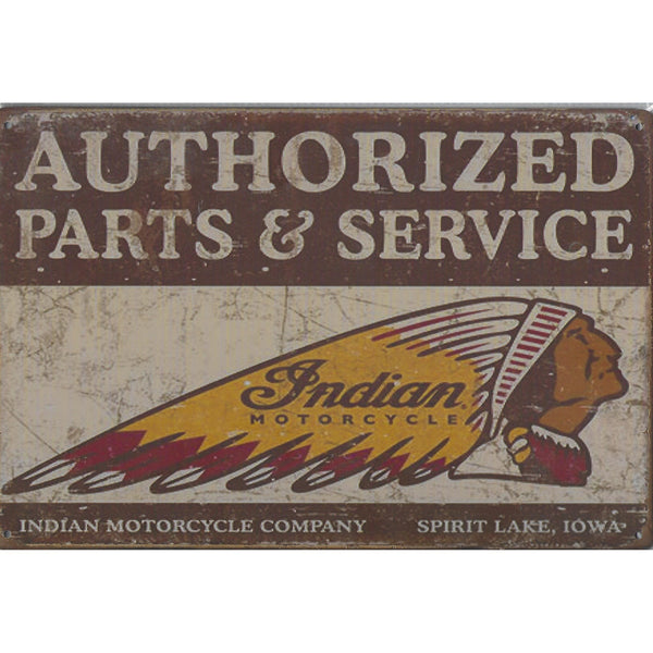 Indian Motorcycles Tin Sign-Mr Revhead