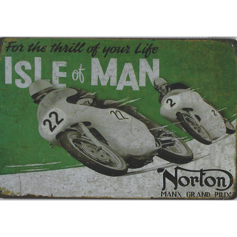 Norton Tin Signs