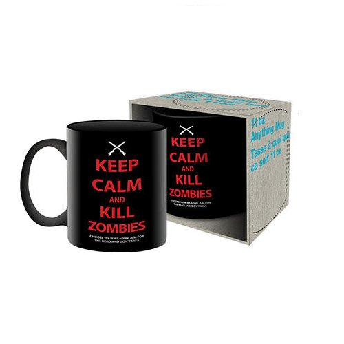 Keep Calm and Kill Zombies Mug-Mr Revhead