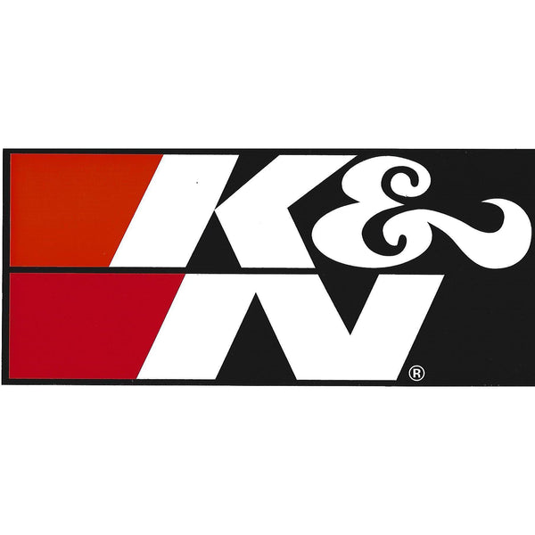 K&N Filters Black Decal / Sticker-Mr Revhead