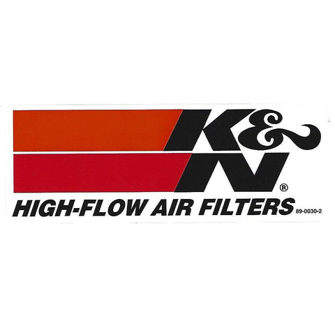 K&N High-Flow Ar Filters Decal / Sticker-Mr Revhead