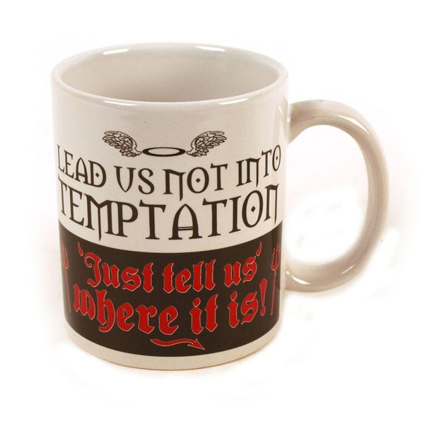 Lead Us Not Into Temptation Mug-Mr Revhead