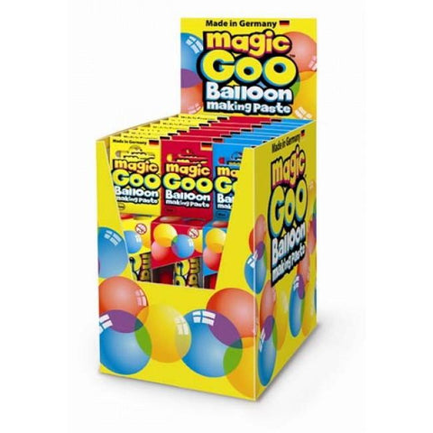 Magic Goo Plastic Balloon Making Paste - Assorted Colors-mightymoo