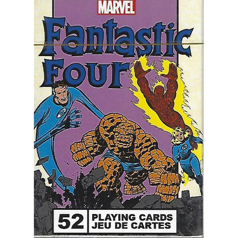 Marvel Comics Fantastic Four Playing Cards-Mr Revhead