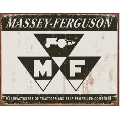 Massey Ferguson Logo Tin Sign-Mr Revhead