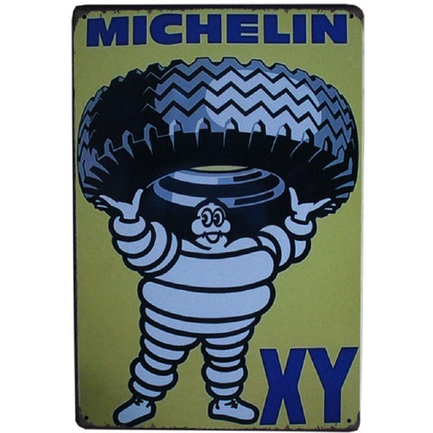 Michelin XY Tires Tin Sign-mightymoo