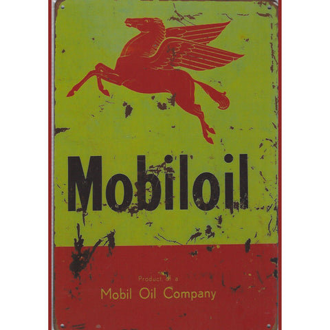 Mobile Oil Company Tin Sign-Mr Revhead