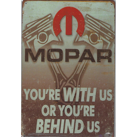 Mopar Tin Sign-Mr Revhead
