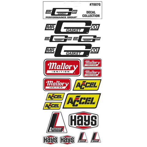 Mr Gasket Sticker / Decal Sheet-Mr Revhead
