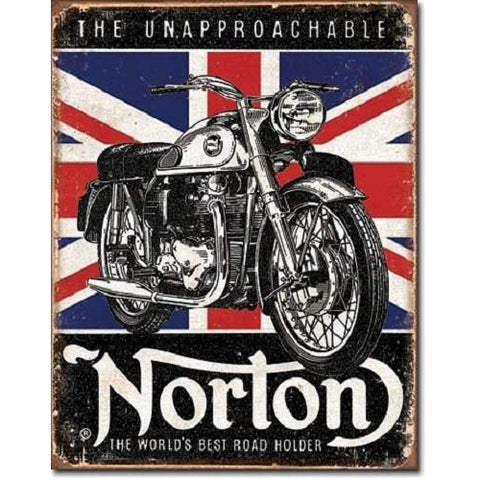 Norton - The Unapproachable Tin Sign-Mr Revhead
