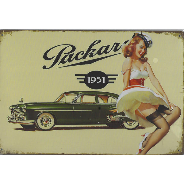 Packard 200 1951 Tin Sign-Mr Revhead