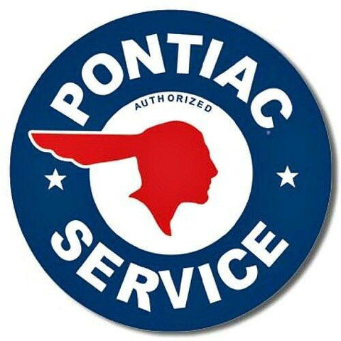 Pontiac Service Tin Sign-Mr Revhead