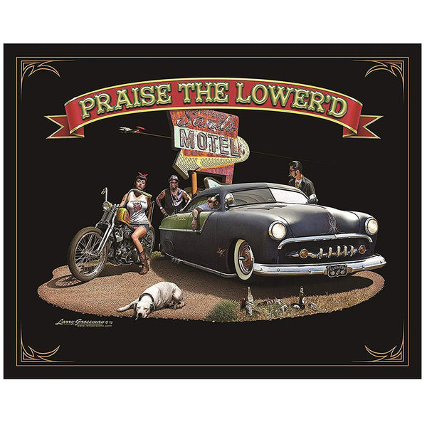 Praise The Lowered Tin Sign-Mr Revhead