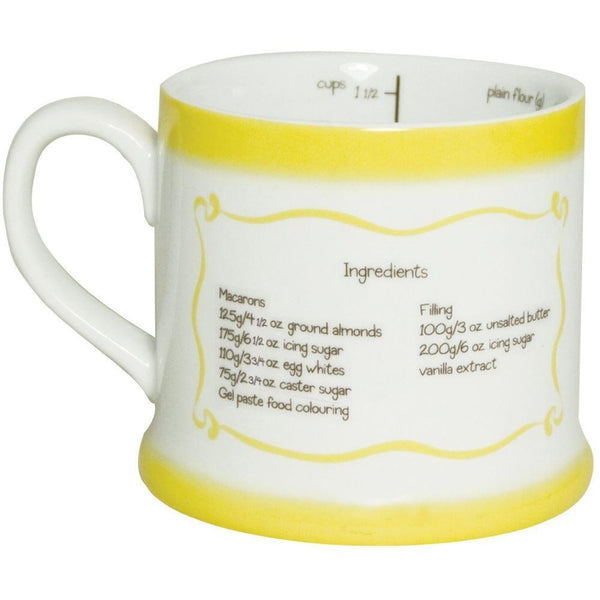Recipe Mug - French Macaroons-Mr Revhead