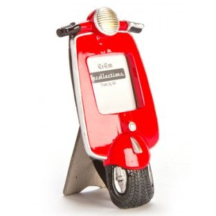 Red Scooter Photo Frame-Mr Revhead