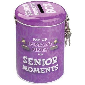 Senior Moments Money Tin-Mr Revhead