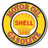Shell Motor Oil Tin Sign-Mr Revhead