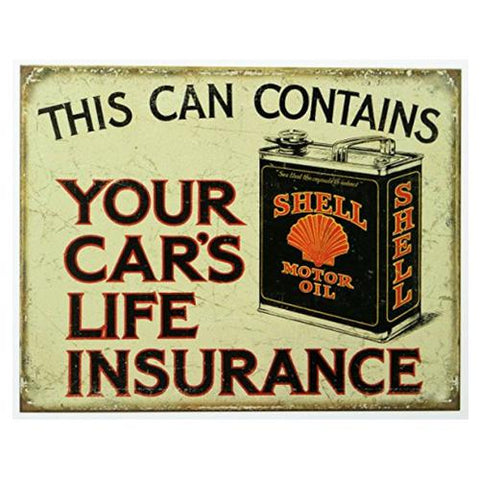 Shell Motor Oil Tin Signs-Mr Revhead