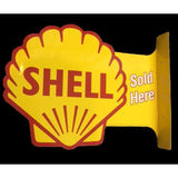 Shell Sold Here Tin Sign-Mr Revhead