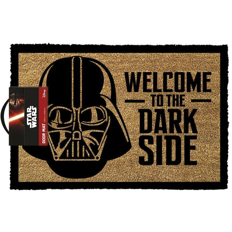 Star Wars - Welcome To The Dark Side Darth Vader Doormat-Mr Revhead