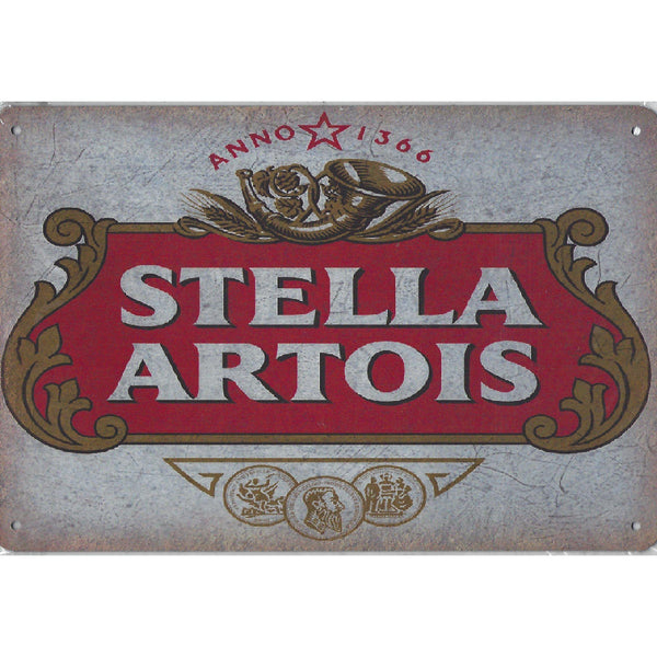 Stella Artois Tin Sign-Mr Revhead