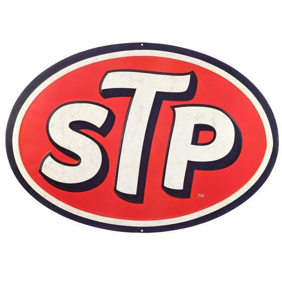 STP Oil Tin Sign-Mr Revhead