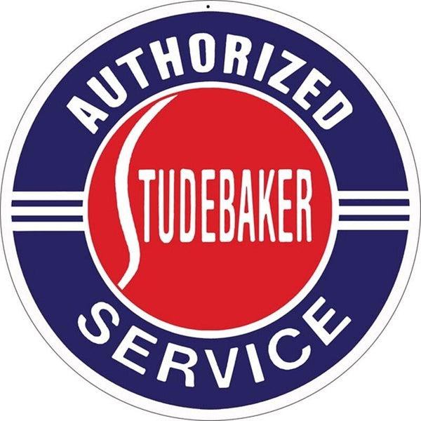Studebaker Tin Sign-Mr Revhead