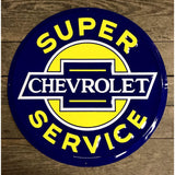 Super Chevrolet Service Tin Sign-Mr Revhead