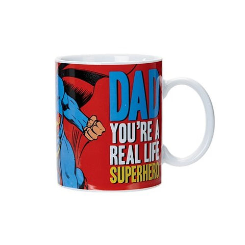 Superman Mug - Dad You're a Real Life Superhero-Mr Revhead