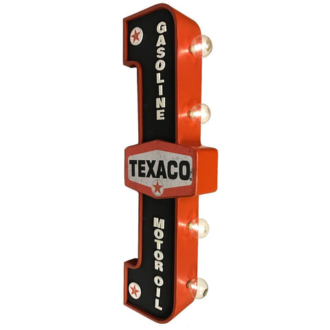 Texaco Double Sided LED Light Sign-Mr Revhead