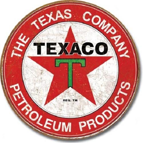 Texaco - The Texas Company Tin Sign-Mr Revhead