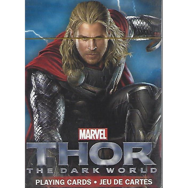 Thor The Dark World Movie Playing Cards-Mr Revhead
