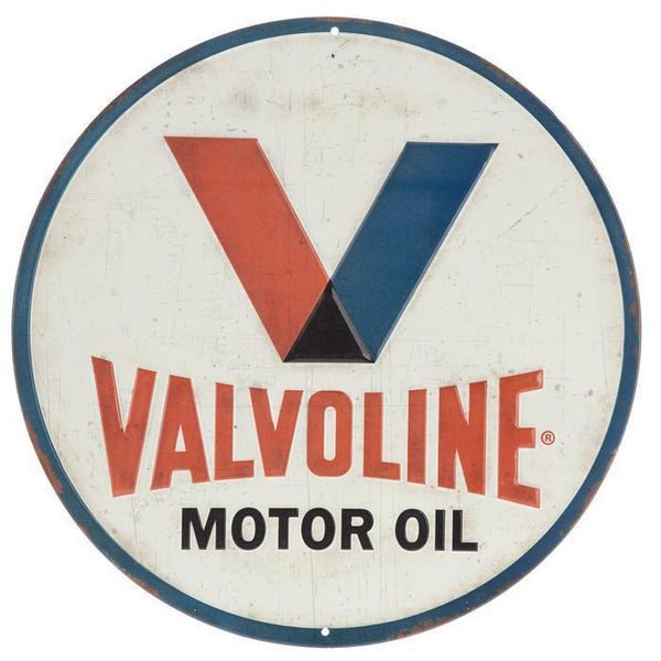 Valvoline Tin Sign-Mr Revhead