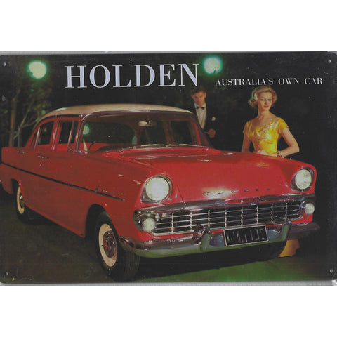 Vintage Holden EK Special Tin Sign-Mr Revhead