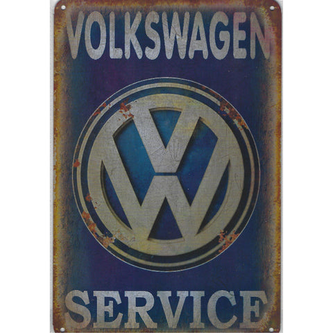 VW Service Tin Sign-Mr Revhead