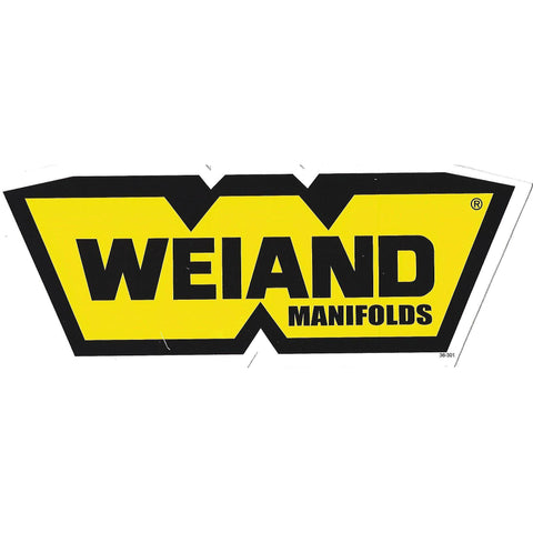 Weiand Manifolds Decal / Sticker-Mr Revhead