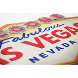 Welcome to Fabulous Las Vegas, Embossed Tin Sign,-mightymoo