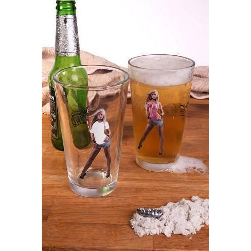 Wet T-Shirt Beer Glass-Mr Revhead