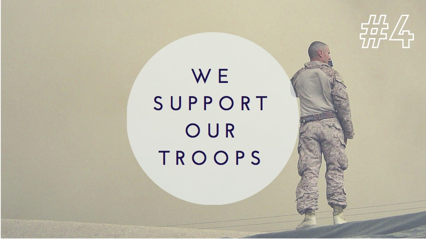 leo and lee's supports our troops by donating proceeds from every stars & stripe shirt to the special operations warrior foundation